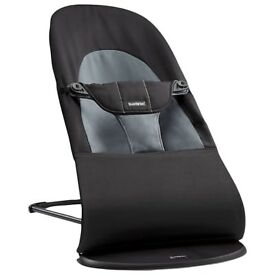 BabyBjörn Bouncer Balance Soft, Black/Grey For Sale