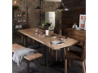 John Lewis Calia 160-240cm Extending Dining Table, Oak rrp £799