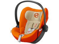 Cybex Cloud Q Group 0 plus Baby Car Seat Autumn Gold