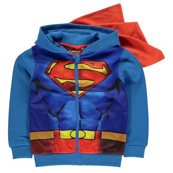 Gilet zippé SUPERMAN