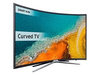 """Samsung UE40K6300 Curved LED HD 1080p Smart TV, 40"""" with Freeview HD, Built-In Wi-Fi"""