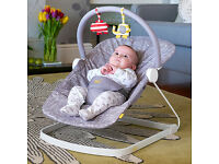 BabaBing FLOAT BABY BOUNCER Rocker Chair Grey