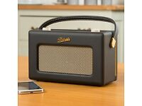 ROBERTS Revival iStream 2 Radio With DAB+/FM /RDS/USB/WiFi Internet axs, Black/Gold