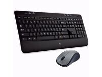 BRAND NEW Logitech MK520 Wireless Keyboard and Laser Mouse Deskset COMBO/ QWERTY