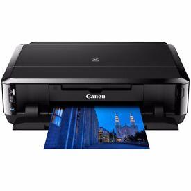 Printer Canon PIXMA iP7250 Wireless + Plustek OpticBook 3900 Scanner