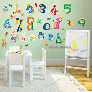 Large nursery wall stickers ebay for Large wall letters for nursery