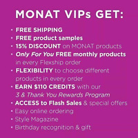 MONAT. Have beautiful hair and get paid for it