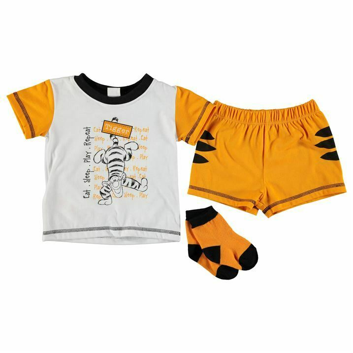 Disney Baby Tigger Jungs 3er Set Shorts T-Shirt Socken