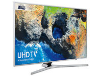 """NEW Samsung UE40MU6400 4K Ultra HD Smart TV, 40"""" Freeview HD & Activ Crystal Colour, Silver Rrp£689"""