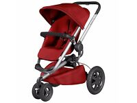 Quinny Buzz Xtra Pushchair, Red Rumour