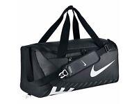 NIKE Alpha Adapt Cross Body Duffle Training Bag - Grey - Medium