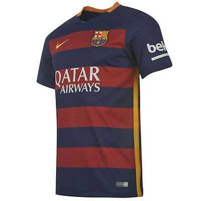 91d97f46be0 Nike Junior Barcelona 2015-16 home shirt - boys M (age 10-12)