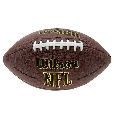 Wilson Tackfield American Football NFL Ball Official Extreme Ultra Soft Grip NEU