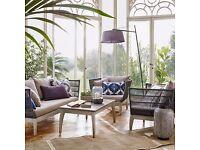 Ariel 3 Seater Sofa - Outdoor or Conservatory - (2 Set) - John Lewis