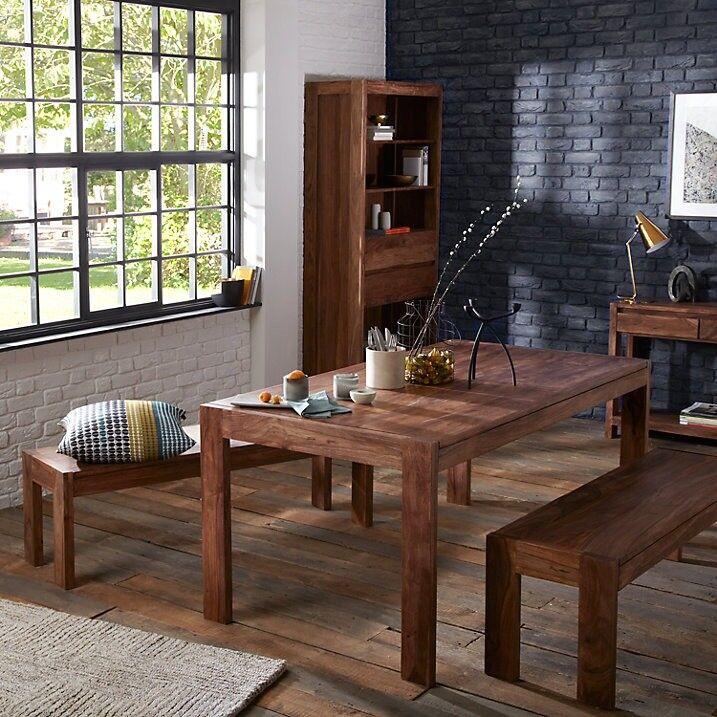 John Lewis Samara 8 Seater Dining Table 2 Benches