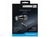 Sennheiser MOMENTUM 2.0 I In-Ear Headphones with Mic/Remote for iOS Devices, Black/Chrome