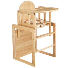 East Coast Nursery Wooden Combination Highchair - Natural