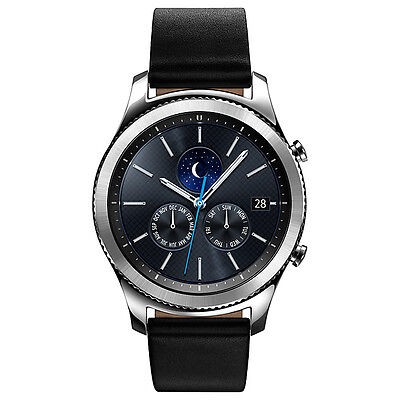 Samsung Galaxy Gear S3 Classic Smartwatch with Leather Band (489366)