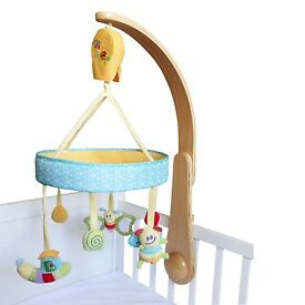 Wood 'John Lewis' Baby Mobile *mint condition* REDUCED £12