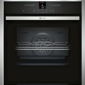 Neff B27CR22N1B Pyrolytic Single Electric Oven, Stainless Steel Brand New