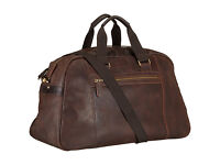 John Lewis Rio II 2 Large Oily Leather Holdall Bag
