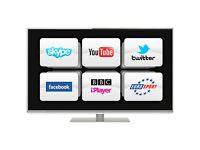 Panasonic 42 inch Ultra Slim Smart LED 1080p HD TV with Freeview HD, Wifi + Apps, not 40 43 46