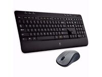 BRAND NEW Logitech MK520 Wireless Keyboard and Laser Mouse Deskset COMBO/ QWERTY