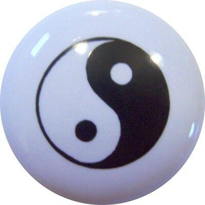 YIN YANG TAI-CHI Symbol CABINET DRAWER Pull KNOB