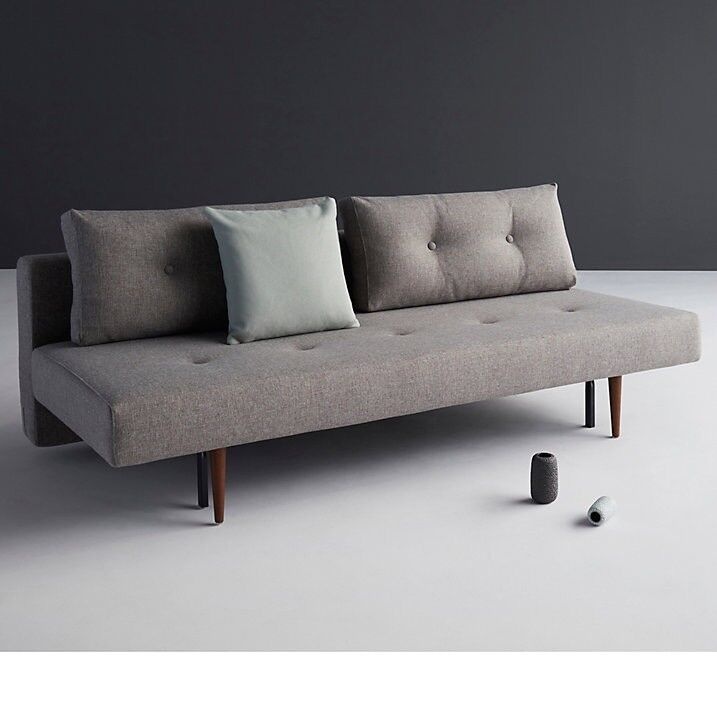 Innovation Recast Danish Mid Century Style Sofa Bed Double Pocket Spring