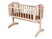 John Lewis swinging crib - Excellent condition