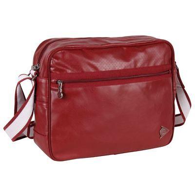 Dunlop Herren Tasche (Dunlop Tasche Messenger Bag Flight Schultertasche Schulter Uni Sport Tasche)