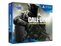 Brand New Slim PS4 500MB Bundle Including Call of Duty: Infinite Warfare