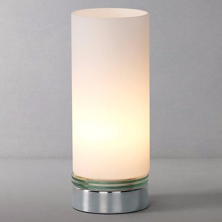 John Lewis Dexter Touch Lamp Chrome Brand New Rep 30