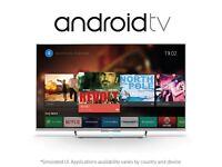 "Sony 43"" Smart Android Tv slim design kodi Bargain Free delivery"