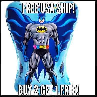 Batman Super Hero Birthday Party Balloon superman balloons Justice League - Justice League Birthday Party