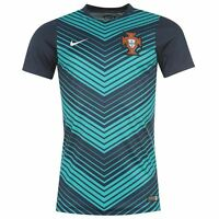 Portugal soccer jersey Nike Pre-Match Training (Navy) 2014-15
