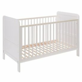 John Lewis Cot/Bed with Organic Mattress (1400 x 700)
