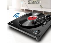 ION Air LP USB Turntable with Bluetooth, Black