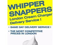 Whippersnappers, London Cream Charger Delivery Service