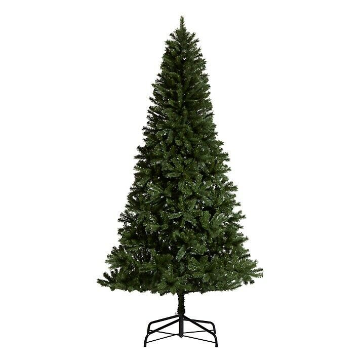 FOR SALE LARGE 8 FT HIGH VERY BUSHY JOHN LEWIS ARTIFICIAL CHRISTMAS TREE