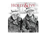 HOLLY & IVY CHRISTMAS CARD
