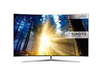 """Samsung 55"""" curved 4k SUHD smart led Tv ue55ks9000"""