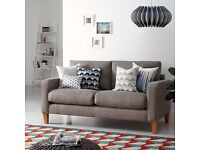 NEW John Lewis The Basics Jackson Medium 3 Seater Sofa, Basics Dash Charcoal **CAN DELIVER**