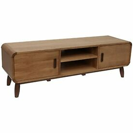 **Totaly brand new and boxed - John Lewis Enza TV Media Unit Oak & Walnut