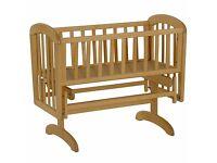 John Lewis Anna Glider Crib (RRP £100) - £50 including 2 x Premium Foam mattresses (RRP £35 each)