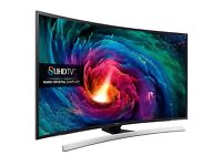 SAMSUNG 55 CURVE SMART 3D SUHD 4K VOICE CONTROL 1900PQI FREESAT & FREEVIEW HD
