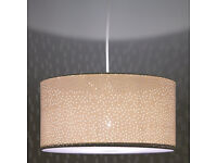 Easy-to-fit 'Alice Starry Sky Ceiling Shades' (White)