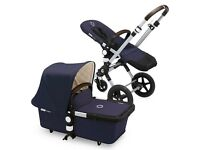 BRAND NEW Bugaboo cameleon 3 classic pushchair - navy blue