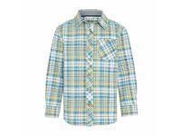 John Lewis Check shirt- age 3
