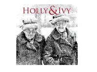 HOLLY & IVY CHRISTMAS CARD
